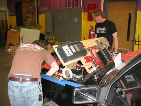 Chevy S10 Battery Controls Installation